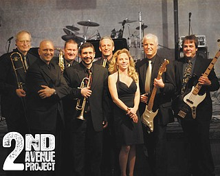 "The classic horns of Second Avenue Project will provide selections from swing to Top 40 tunes for dancing during the main celebration at the ""Mad About the Arts"" benefit event at the John J. McDonough Museum of Art on Feb. 25."
