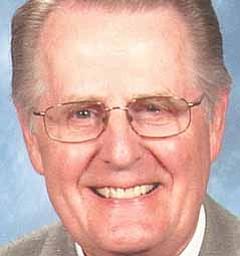 The Rev. Dr. Erwin M. Smuda, interim pastor of Zion Lutheran Church in Cornersburg.