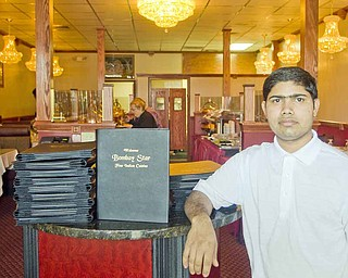 Raj Singh, along with his brother, Ragubir, are co-owners of the new Indian restaurant Bombay Star, 813 Boardman-Poland Road, in Boardman. The restaurant's menu features more than 100 items.