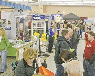 Hundreds of vendors displayed home items Saturday during the Mahoning Valley Home and Garden Show at the Eastwood Expo Center, Niles.