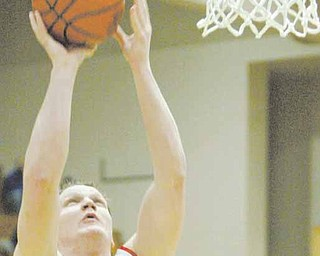 Youngstown State's Vytas Sulskis during a Horizon League contest at YSU's Beeghly Center on Feb. 24.