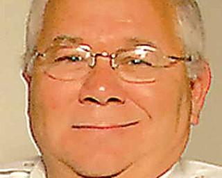 Canfield Fire Chief Robert Tieche