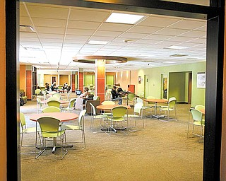 YSU is planning to renovate the study area on the ground floor of Kilcawley Center