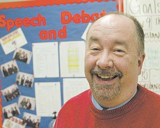 Joe Curry has been an assistant coach for Fitch High School's speech and debate team for 30 years. He will be inducted into the Ohio High School Speech League Hall of Fame in Toledo today.