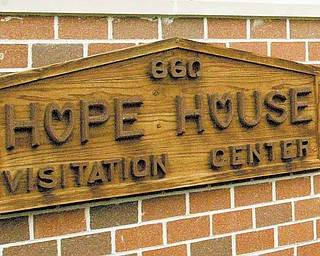Hope House Visitation Center in Youngstown provides neutral ground for court-ordered visitation of children between parents and their children who are in foster care, as well as parents who are divorced.