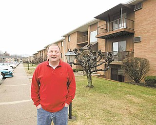 Craig Tareshawty's Brandywine apartment complex in Youngstown is at about 96-percent capacity. Many rental companies throughout the Mahoning Valley have experienced increased capacity levels in the past year.