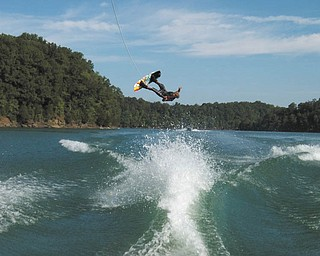 Lisa White sent in this photo of wakeboarder Jake Tharp, 16, of Lake Milton. She took the photo in 2010 at Dale Hollow Lake in Tennessee.