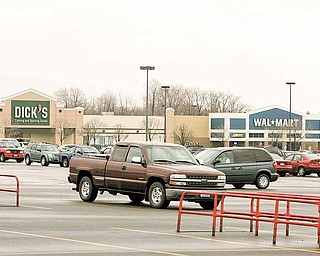 Retailers are expanding in Boardman. This year, Walmart will add 20,000 square feet to its building; Aldi will move into a new 17,000-square-foot building across from Walmart; and Dick's Sporting Goods is moving to a larger location in the township.