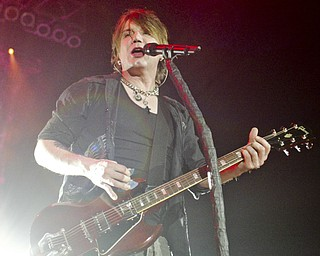 The Goo Goo Dolls perform at The Covelli Centre Tuesday, 4-12-11.