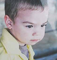 This undated photo provided by Joan Atwater shows 2-year-old Isaac Atwater. Authorities say Alan Atwater killed Isaac and two of his other children, along with his wife and himself inside a farmhouse Saturday, April 16, 2011, in Oak Harbor, Ohio.
