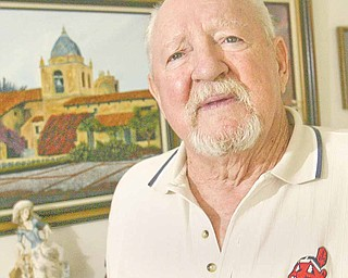 Robert J. Rider Sr. of Austintown, self-taught artist and Korean War-era veteran, says he was inspired to paint by his late wife, the former Patricia Harris, who died of lung cancer in 1996.