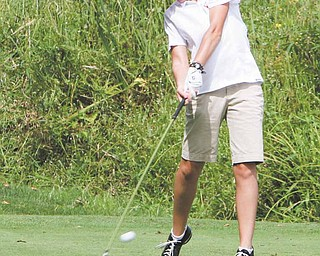 Samantha Formeck of the Youngstown State University's women's golf team.