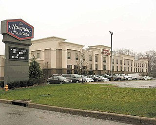 Guests at the Hampton Inn and Suites in Canfield Township pay 12.75 percent in combined sales and Mahoning County and township bed taxes. Mike Naffah, inn owner, is opposed to raising the county bed tax between 3 percent and 5 percent.