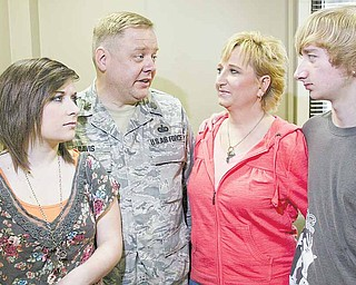 When Maj. Brent Davis was deployed to Southwest Asia in 2005 during the Thanksgiving Day and Christmas holidays, his wife, Sonya, tried to keep Lainne and her brother, Martin, 15, busy so they wouldn't have as much time to worry about their father.