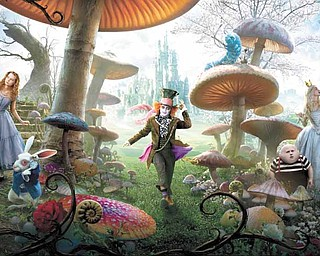 "Last year's ""Alice in Wonderland,"" starring Johnny Depp and Mia Wasikowsha, a huge box-offi  ce success, kicked off  a new trend for movies — live-action fairy tales."