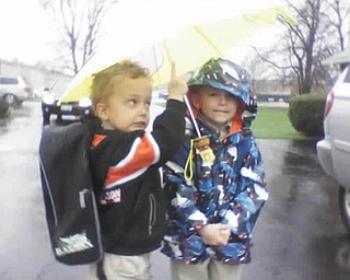 Timmy Kerr and Bobby Loftus are leaving Little Angels Preschool in Poland.