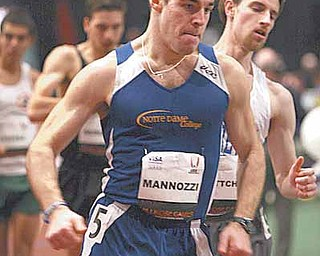 Boardman native Michael Mannozzi is working towards a spot in the 2012 U.S. Olympic Trials in race walking.