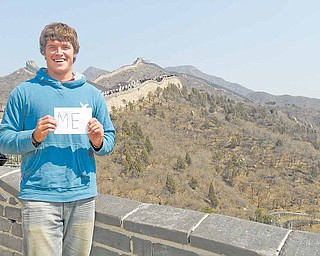 When Youngstown State University senior Erik Johnson booked his Semester at Sea, little did he know a night on the Great Wall of China would turn into a life-saving memory.