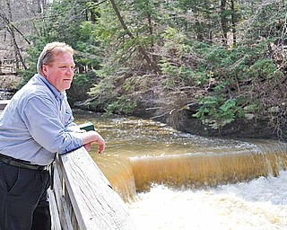 Clarke Johnson, newly appointed executive director of Mill Creek MetroParks, has spent his first few months getting acquainted with the system.
