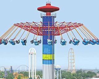 The Windseeker is Cedar Point's newest ride.