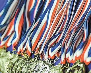 Hundreds of medals  were given to 550 academic achievers in the Youngstown City Schools Beeghly Center on Sunday.