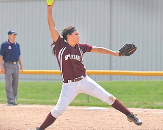 Alex DiDomenico of Boardman will be counted on to pitch in the Division I regional tournament. The Spartans will play the winner of the Nordonia-Hudson game on Thursday at the University of Akron's Lee Jackson Field.