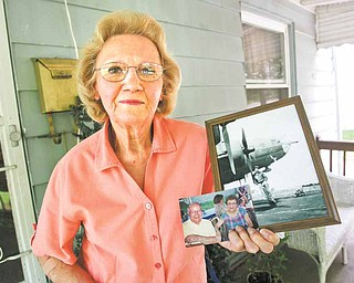 Dixie Lee Kosovec, 75, of McDonald had a World War II bomber named after her, thanks to an uncle, Andy Bugzavich, who fought in the war. After three missions, the bomber was shot down over France.