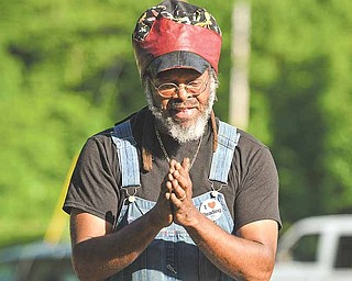 Urban gardening advocate Maurice Small of Cleveland