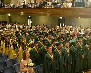 William D Lewis The Vindicator  Usuline class 2011 during saturday graduation