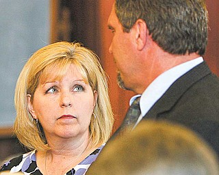 Linda and Scott Adair pleaded guilty Wednesday to embezzling about $1.3 million from Scott Adair's former business Southwind Trucking Inc. in Austintown. A plea agreement was reached.
