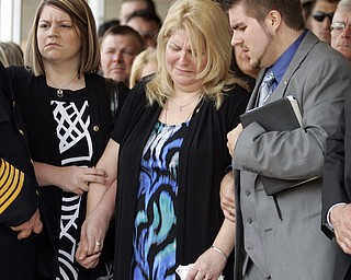 NEW CASTLE, PA - JUNE 11:  Kathie Kirkwood Greenawalt, mother to Staff Sgt. Edward Mills Jr. mourns the death of her son on June 11, 2011 in New Castle, PA.  (photo by:  Justin K. Aller)