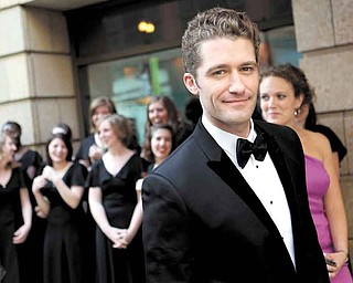 """Matthew Morrison of the television show """"Glee"""" arrives at the Goodman Theatre Gala in Chicago, Illinois, on May 21, 2011. (Chris Sweda/Chicago Tribune/MCT)"""