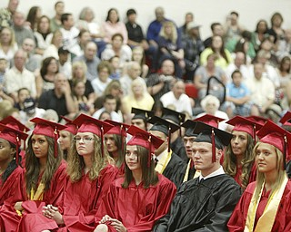 William D Lewis the Vindicator  Girard HS 2011commencement ceremony Sunday at GHS.