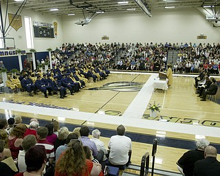 William D Lewis the Vindicator  Lowellville  HS 2011commencement ceremony Sunday at Lowellville HS.