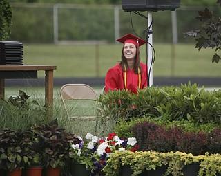 ROBERT  K.  YOSAY  | THE VINDICATOR --..Canfield High School 2011 graduation at the Stadium - .. -30-..(AP Photo/The Vindicator, Robert K. Yosay)
