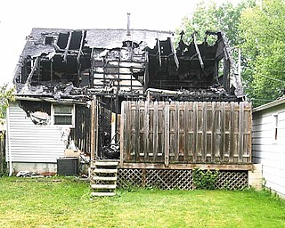A fire in Warren killed four children and two adults. The fire at 911 Landsdowne Ave. NW was reported at 4:43 a.m. Thursday.