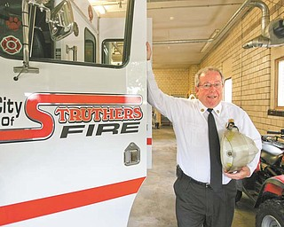 Struthers Fire Chief Harold Milligan is retiring after 30 years. His last day at work will be Wednesday.