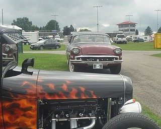 Gray skies and rain were the story of the Steel Valley Super Nationals Friday at Quaker City Motorsports Park. The weather prevented race action.