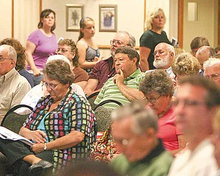 About 250 residents from counties throughout Northeast Ohio learned about the many legal issues surrounding oil and gas leases, including mineral-rights purchases, the effect on property values and tax regulations.
