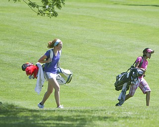 ROBERT K. YOSAY | THE VINDICATOR..The areaÕs best youth golfers hit the links Tuesday, trying to make a name for themselves and collect the scholarship that comes along with the success.. the kickoff to the first ÒGreatest Junior Golfer in the ValleyÓ tournament, and the first ball will be launched off the tees of the Diamond Back Golf Course in Canfield. Throughout the month, golfers under the age of 18 as of Aug. 31 will attempt to qualify and be named the best...-30-