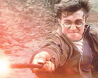 "In this film publicity image released by Warner Bros. Pictures, Daniel Radcliffe is shown in a scene from ""Harry Potter and the Deathly Hallows: Part 2."" (AP Photo/Warner Bros. Pictures)"