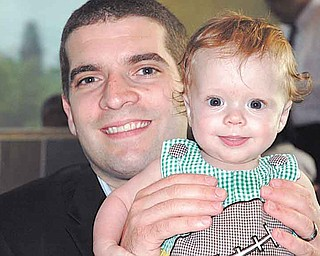 Chris Mastramico and his son, Rocco