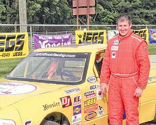 East Palestine High School graduate Brandon Huff raced Legends cars for three years until joining the ARCA Truck Series this year.