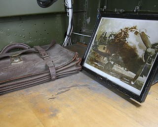JESSICA M. KANALAS  | THE VINDICATOR..Photos and artifacts could be found inside the plane...-30-