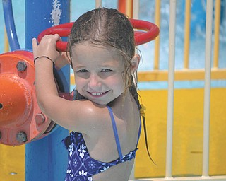 Pictured is Eden Lesnansky, 7, of Boardman. Photo was submitted by her father, George P. Lesnansky Jr. of Youngstown.