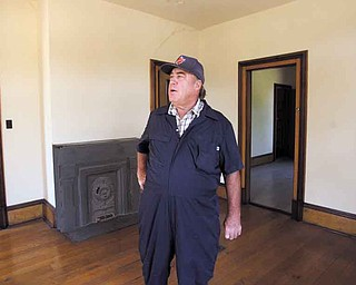 Tom Ellison of New Springfield said he purchased the Firestone house partly as a way to create work for his company, Tom Ellison Excavating.
