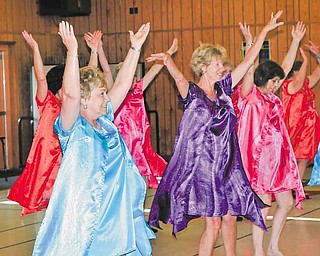 """Performers rehearse for the upcoming Mercer County Senior Follies. This year's theme is """"Movie Magic."""""""