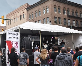 Local band Relic performs during VexFest 8 in downtown Youngstown on Sunday, August 14, 2011.