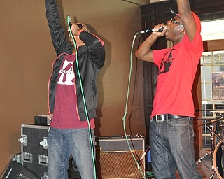 Youngstown-based hip-hop group Da Kreek performs inside Old Precinct during VexFest 8 on Sunday, August 14, 2011.