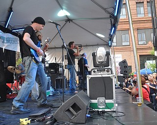 Via Sahara performs VexFest 8 on Sunday, August 14, 2011 in downtown Youngstown.